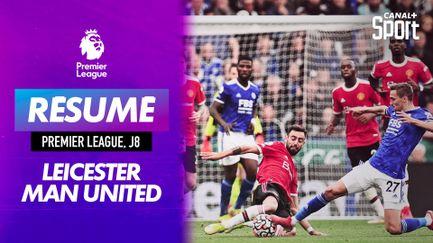 Le résumé de Leicester / Manchester United - Premier League (J8)