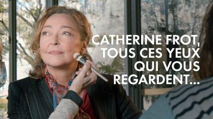 Catherine Frot, tous ces yeux qui vous regardent...