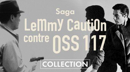 Lemmy Caution contre OSS 117