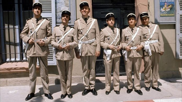 Le gendarme en balade
