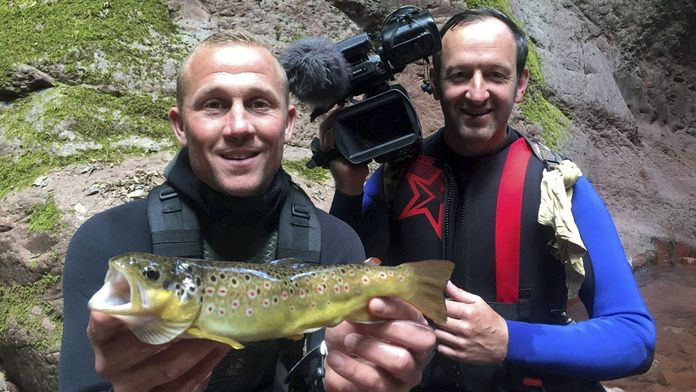 Pêches secrètes en canyon