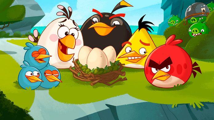 Angry Birds Toons : Thunder Chuck