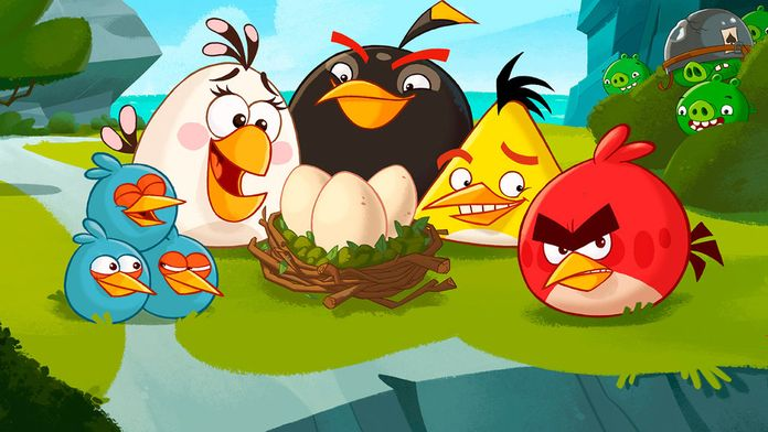 Angry Birds Toons : Egg's Day Out