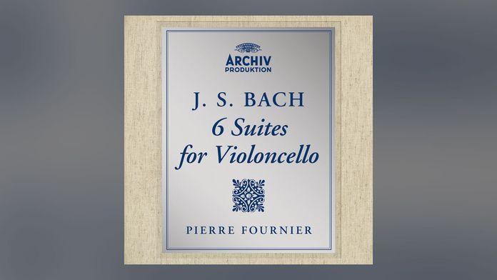 J.S. Bach - Suite pour violoncelle n°6 en ré majeur