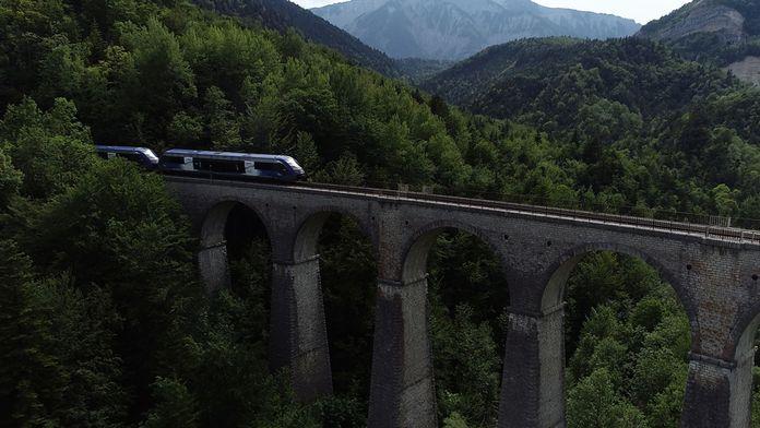 Sur les rails de France