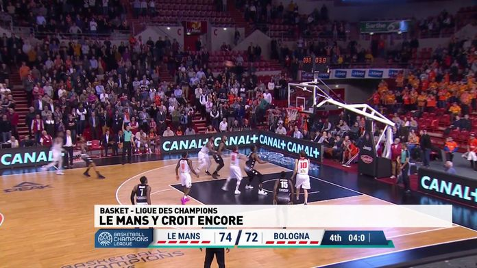 Basketball Champions League : Le Mans / Bologne