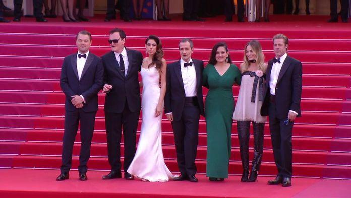 La Montée des marches de l'équipe du film Once Upon a Time in Hollywood- - Cannes 2019