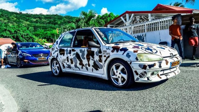 Le tuning, une passion gwada