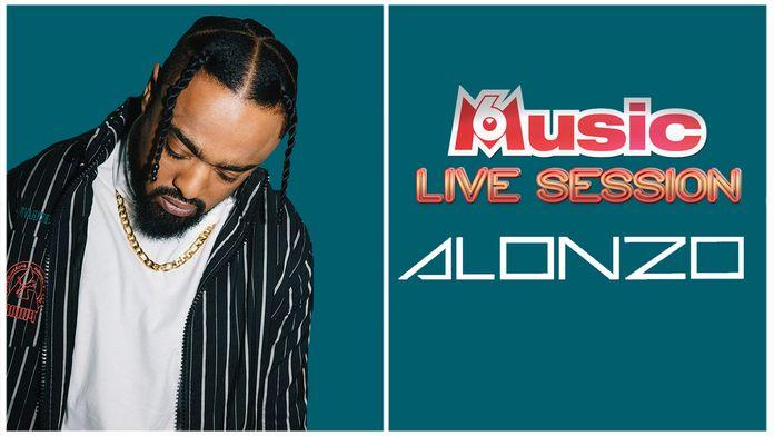 M6 Music Live Session : Alonzo