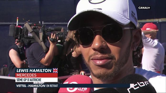 """Hamilton : """"La voiture n'était pas terrible ce week-end"""""""