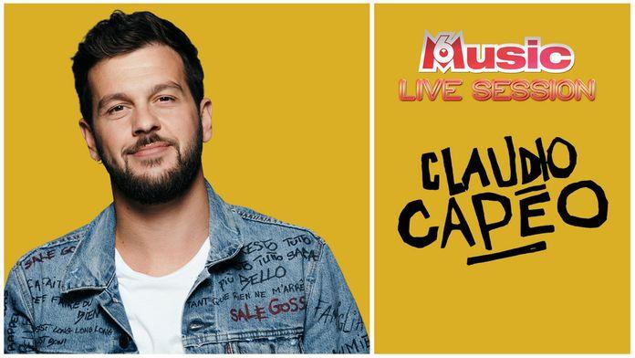 M6 Music Live Session : Claudio Capéo