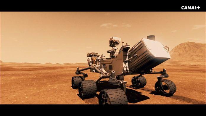 Bienvenue à Curiosity sur Mars ! (extrait)