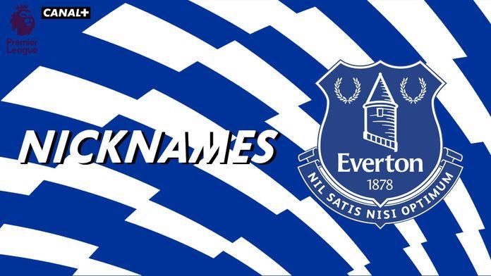 "Les ""Toffees"" d'Everton"