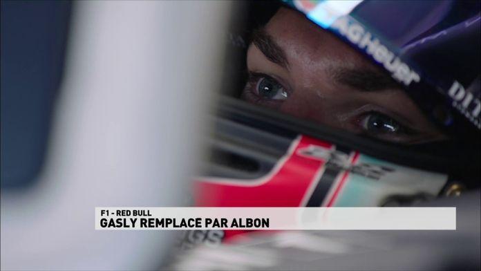 Pierre Gasly remplacé par Alexander Albon