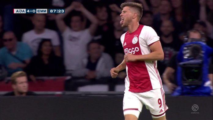 Les 5 buts de l'Ajax contre Emmen