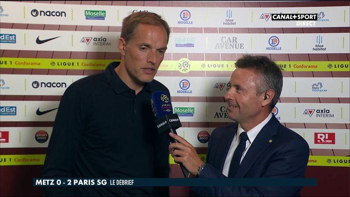 La réaction de Thomas Tuchel après Metz / PSG