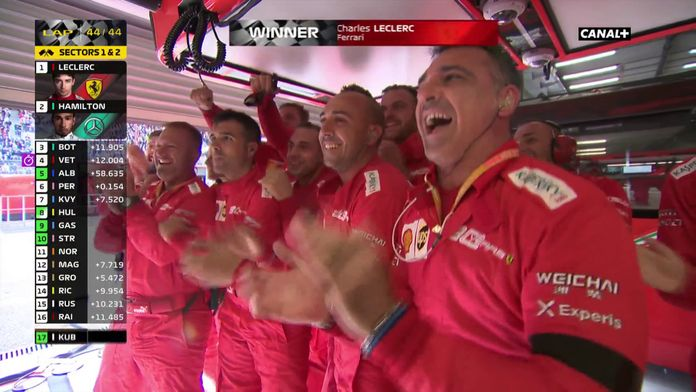 Première victoire pour Charles Leclerc