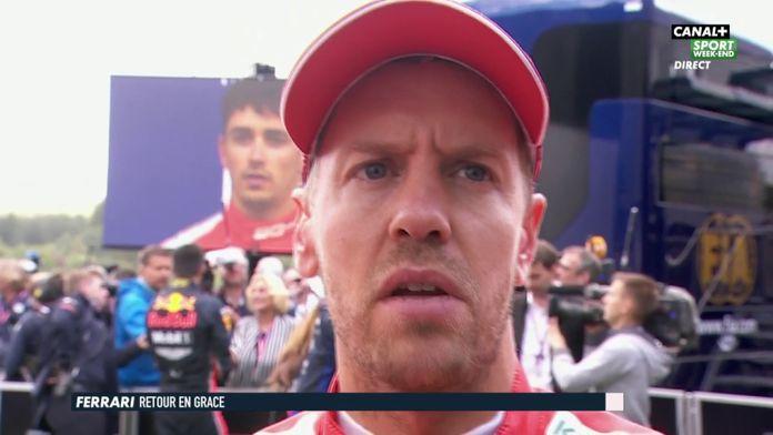 """Vettel  """"J'ai joué le rôle de bloqueur """""""
