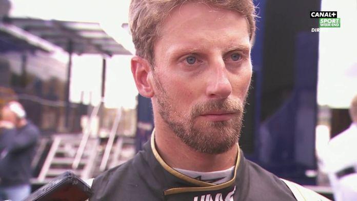 "Romain Grosjean ""J'ai la rage méchant"""