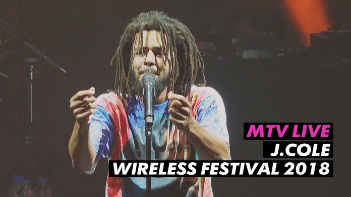 J. Cole Live @ Wireless  Festival 2018