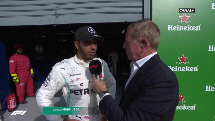 """Hamilton : """"Ils étaient plus rapide"""""""