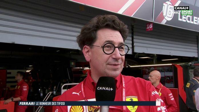 """Mattia Binotto : """"L'émotion est forte à Ferrari"""""""