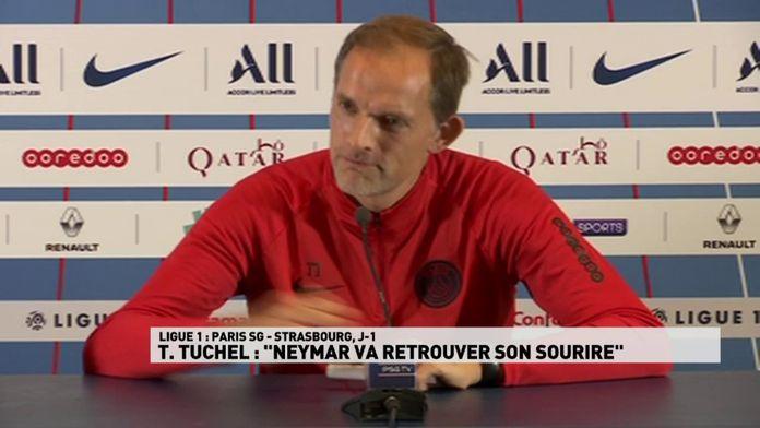 "Tuchel : ""Neymar va retrouver son sourire"""