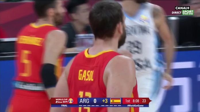 Le 3 points de Marc Gasol