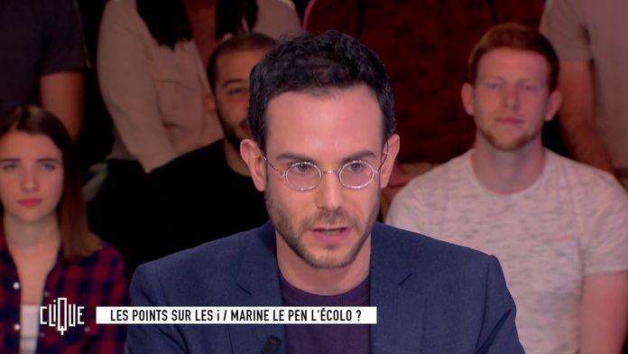La stratégie écologiste de Marine Le Pen