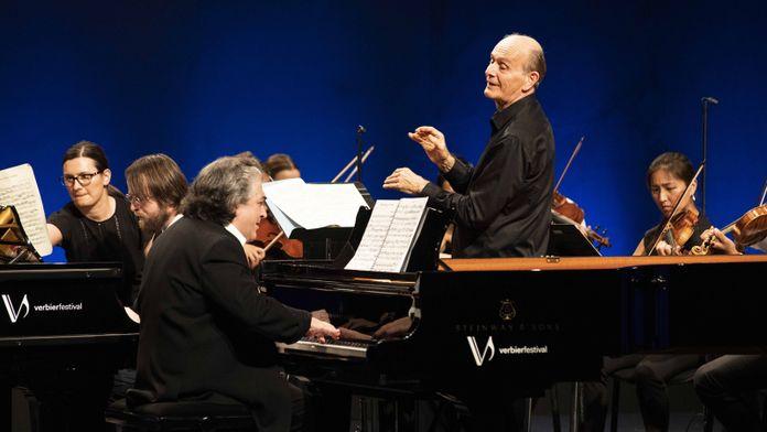 Daniil Trifonov et Sergei Babayan, dirigés par Gábor Takács-Nagy, interprètent Bach, Mozart et Schumann au Festival de Verbier 2019 - Ép 565