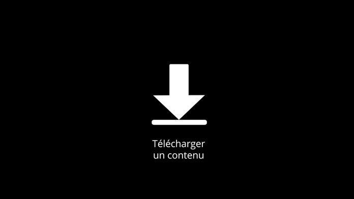 Télécharger un contenu