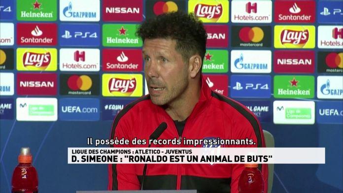 Diego Simeone parle de Ronaldo
