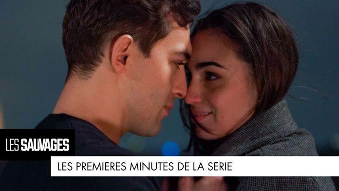 Les premières minutes de la série