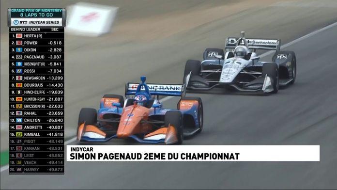 Pagenaud termine second du championnat