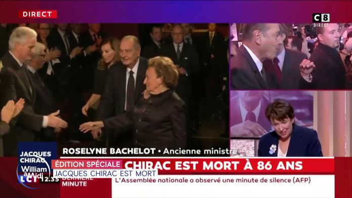 Proches et politiques rendent hommage à Jacques Chirac