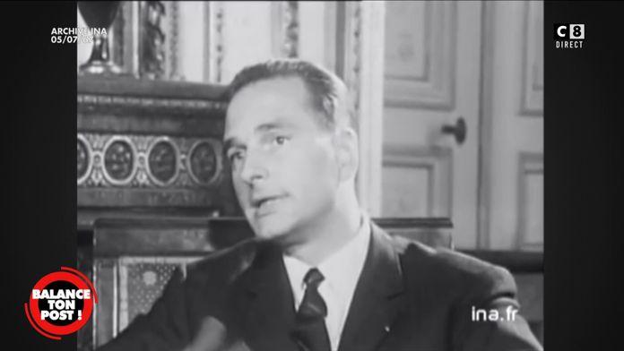 La première apparition télé de Jacques Chirac à 34 ans