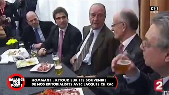 Jacques Chirac au salon de l'agriculture en 2009