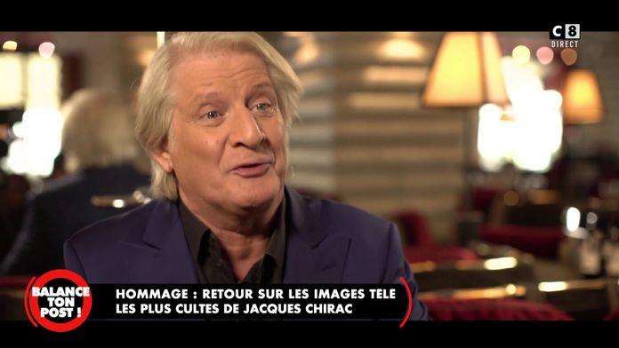 Lorsque Patrick Sébastien a rencontré Jacques Chirac