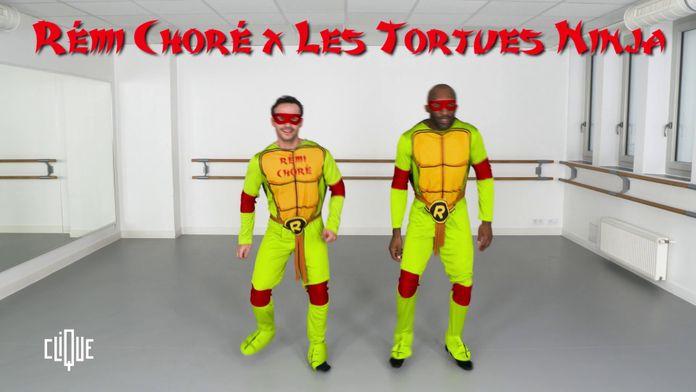 Rémi Choré x Les Tortues Ninja