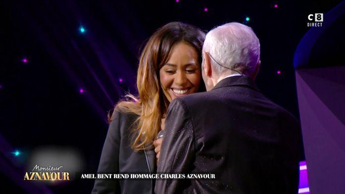 Amel Bent revient sur le duo qu'elle a fait avec Charles Aznavour