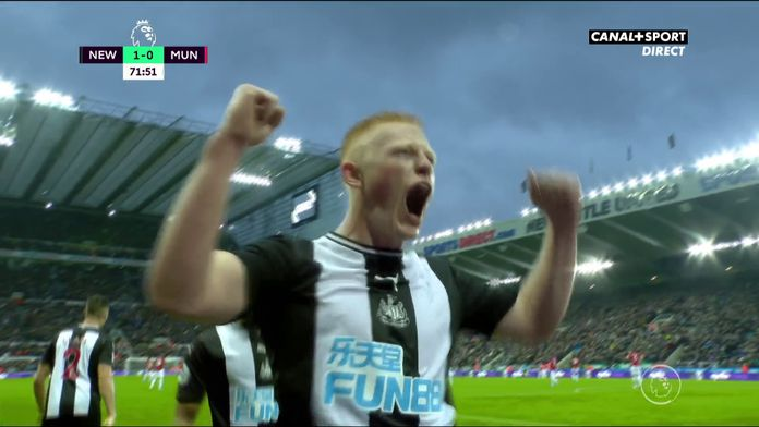 Matty Longstaff fait exploser St James Park pour son premier match !