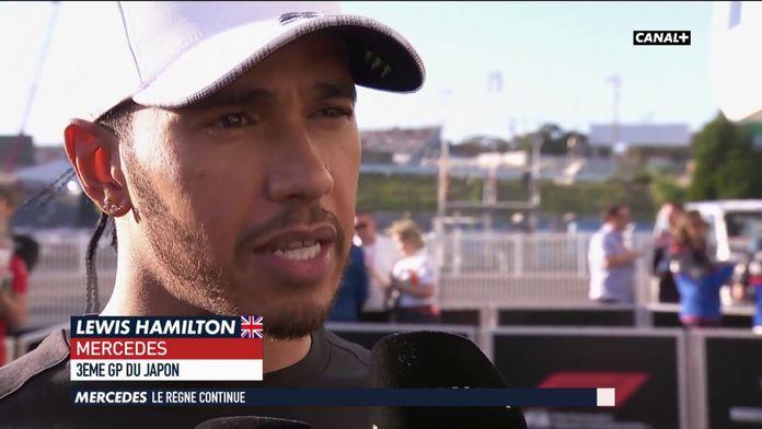 Hamilton un peu déçu de sa 3ème place