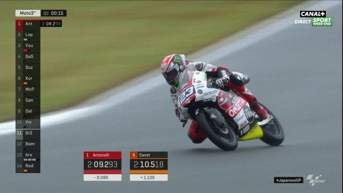 GP du Japon (Moto 3) : Niccolò Antonelli en pole