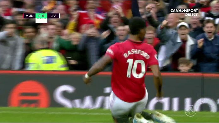 Le but de Rashford contesté par Liverpool
