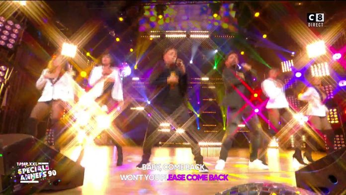 Worlds Apart - Baby come back (Live @TPMP)