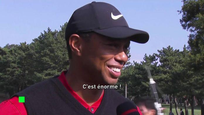 """Tiger Woods : """"C'est énorme"""""""