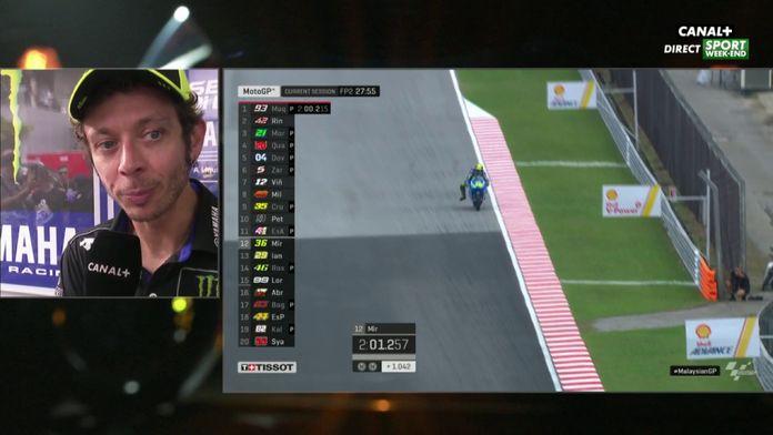 Quartararo adoubé par Rossi