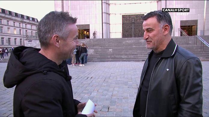 Signé Tallal avec Christophe Galtier