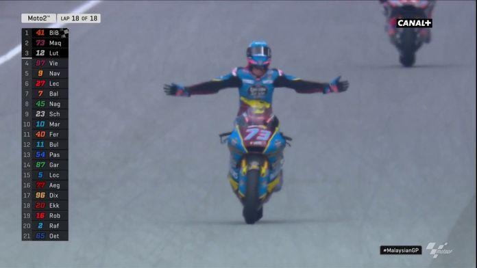 Alex Marquez devient champion du monde Moto 2 !