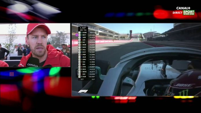 """Sebastian Vettel : """"Très peu d'adhérence dès le départ"""""""